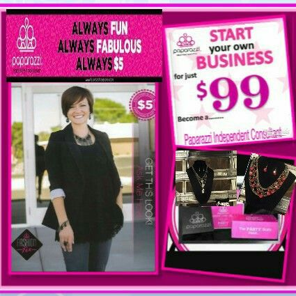 Start Your Own Business Flyer Low As 99 Paparazzi 5