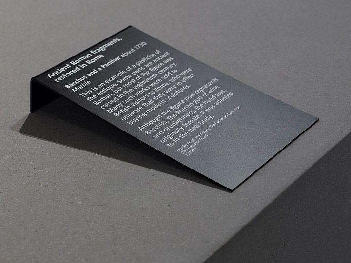 RAMON MARIN simple exhibition label