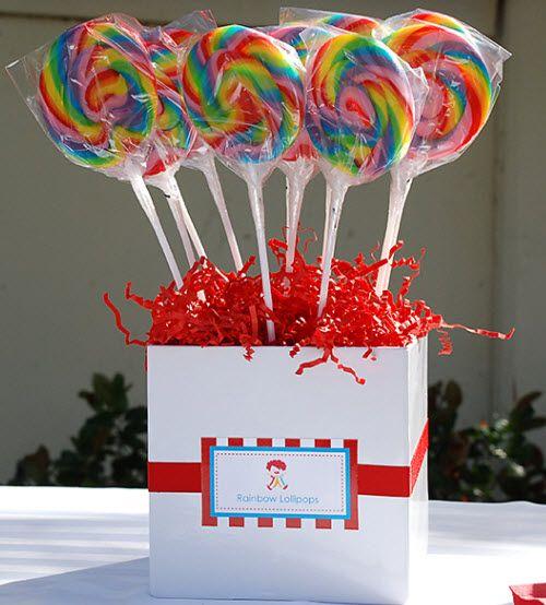 Circus candy buffet ideas
