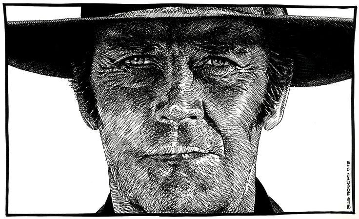 Henry Fonda Portrait by EnricBug
