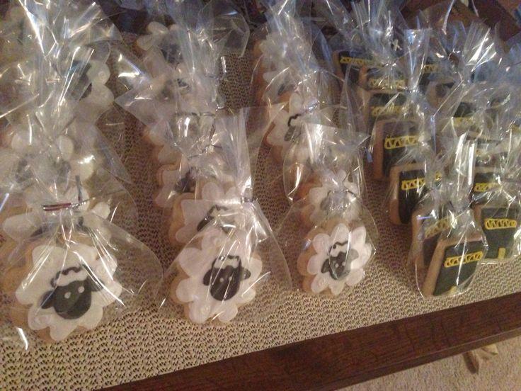 Eid cookies for Eid Al-Adha royal icing Muslim kabaa sheep
