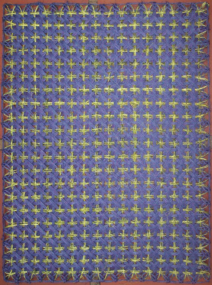 $10.000 COP Individual en cabuya tejido en telar puntilla