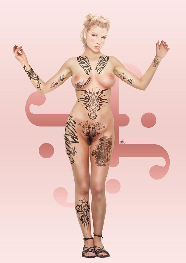 Emma Marrone Tattoo Pin