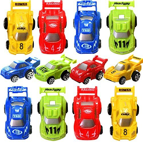 Fun pull back cars for prizes???    Festivous Wishel 12pcs Pull Back Racing Cars Car Toys Veh...