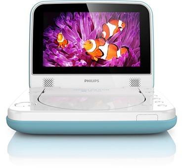Philips PD7006/12 - Lecteur DVD portable certifié TUV, écran LCD 18cm, autonomie 3h