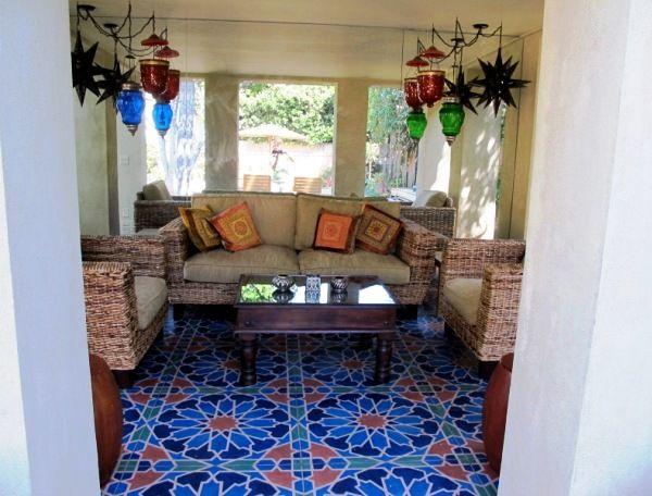 86 best Painted Floors images on Pinterest | Floor design, Home ...