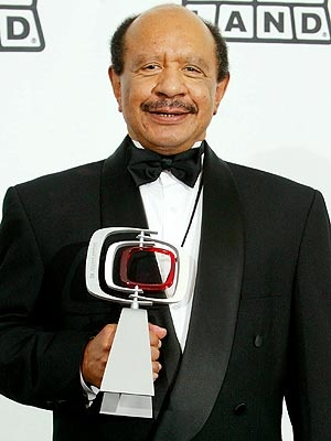 """Sherman Hemsley, 2/1/38-7/24/12 star of """"The Jeffersons,"""" died at his home in El Paso, Texas, he was 74 years old. Hemsley debuted his iconic character George Jefferson on the hit """"All in the Family,"""" then landed a spinoff, """"The Jeffersons,"""" which ran for 11 seasons. Hemsley went on to star as Deacon Frye on NBC's 1986-91 sitcom """"Amen,"""" guest starred on """"The Fresh Prince of Bel-Air,"""" and appeared in TV ads for Denny's and Old Navy."""