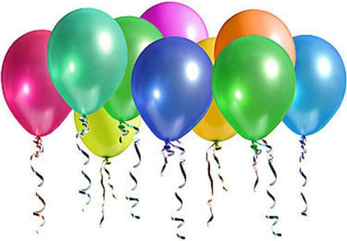 """100Pcs Birthday Wedding Party Decor Latex Pearly Lustre Colorful Balloons 10"""""""
