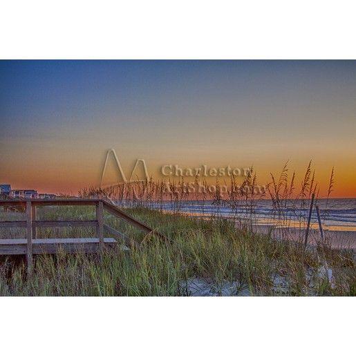 Beach Sunset | Janine Briggs Artwork Listings | Charleston Art Shop Photography