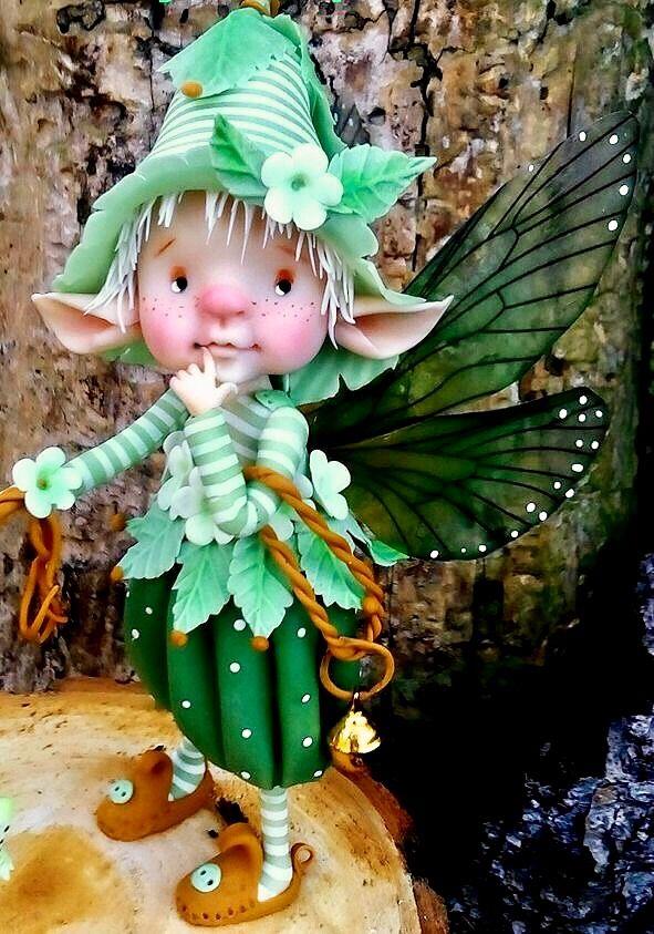 Polymer Clay Fantasy Creatures by Imayara Pascual