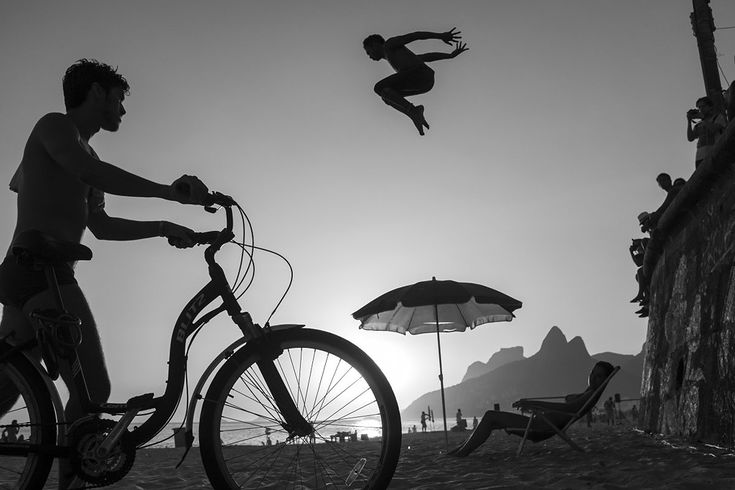 Grandes fotografías: David Alan Harvey, Parkour en Río de Janeiro