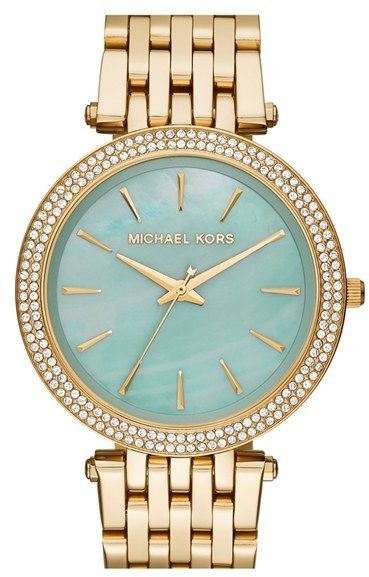 Love the mint!  Michael Kors Watch