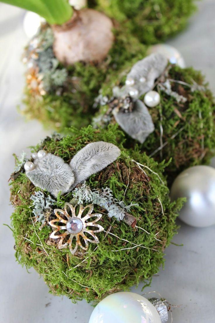 Weihnachtskugel Weihnachtlich Dekorieren Baumkugeln Perlen#weihnachtsdeko # Ideen #christmasdecor. MaterialNatalAd HomeBeadsNatureDekorationWeihnachten