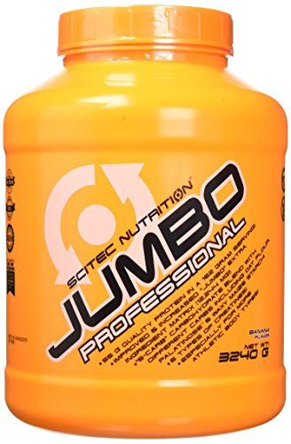 Scitec Nutrition Jumbo Professional Banana Flavoured Weight Gain Formula 3240g