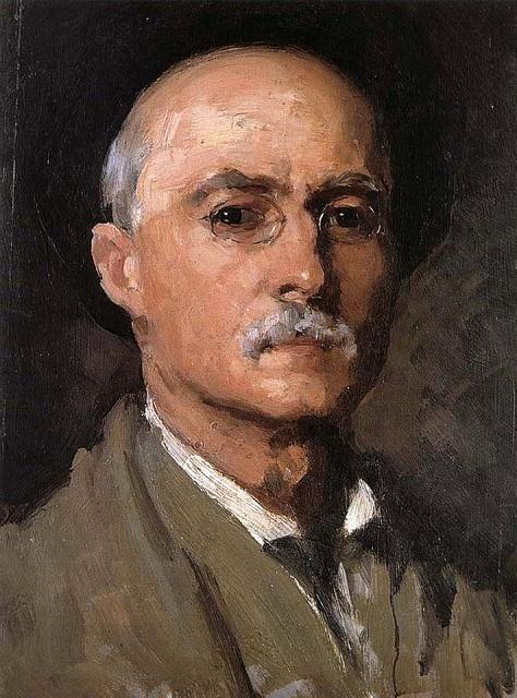 Grigorescu, Nicolae (1838-1907) - 1888 Self-Portrait