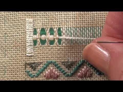 04 Happy Hearts Sweet bag - Interlaced Dbl Herrinbone HEM - YouTube