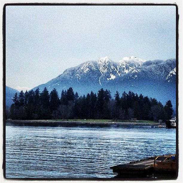 Gorgeous mountain and Stanley Park shot by nikidaines