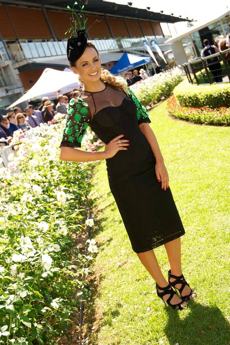 Beautiful Samantha Jade at the races :D