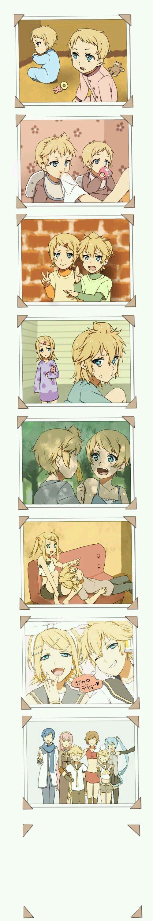 Kagamine Twins Forever >w<