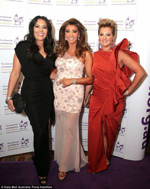 PHOTOS: Chyka Keebaugh, Gina Liano And Lydia Schiavello At The Alannah And Madeline Foundation's Annual Gala Ball!