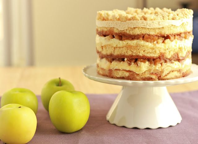 Apple pie layer cake!