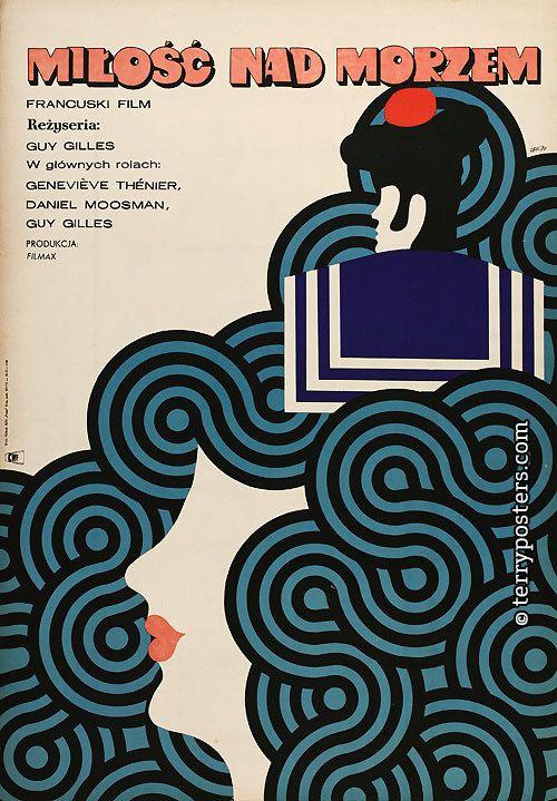 Love at Sea (Guy Gilles, 1964) Polish design by Maciej Zbikowski