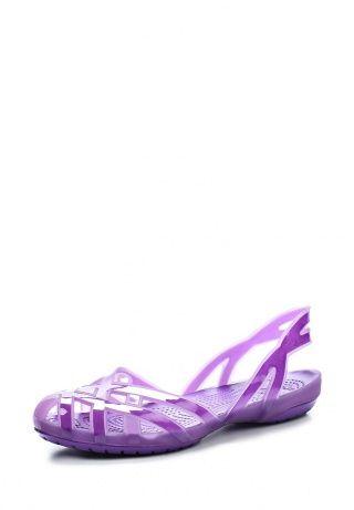 Оригинальные сандалии фиолетового цвета от Crocs - идеальный вариант на отдых для вашего чада. Они выполнены из легкого, износостойкого материала. Мягкая рельефная стелька не только адаптируется к индивидуальностям стопы, но и дарит комфортные ощущения. Тонкие ремешки позволяют зафиксировать модель на ноге. Подошва гарантирует хорошее сцепление с поверхностью. http://j.mp/1rytt27