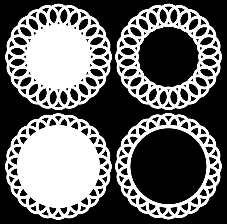 Doily Circles 1 by Bird