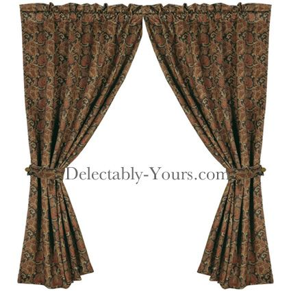 "Delectably Yours Decor Austin #Southwestern #Curtain Panels 48"" x 84 by HiEnd Accents #DelectablyYours"
