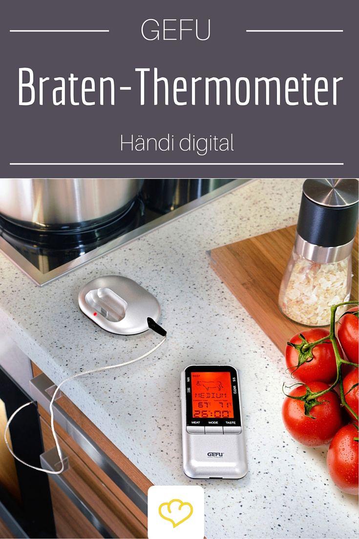 Für alle Gourmets: ein Braten-Thermometer für das beste Fleisch aller Zeiten!