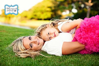 Mother & Daughter. Want a picture just like this with both of my girls.