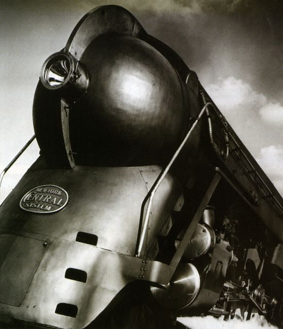 1938 Hudson locomotive -- New York Central Railroad.