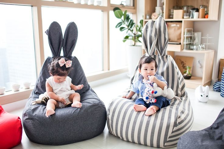 Rabito - cool bean bags for kids - Paul & Paula