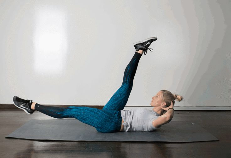 3. Scissor #abs #bodyweight #workout http://greatist.com/move/best-exercises-lower-abs