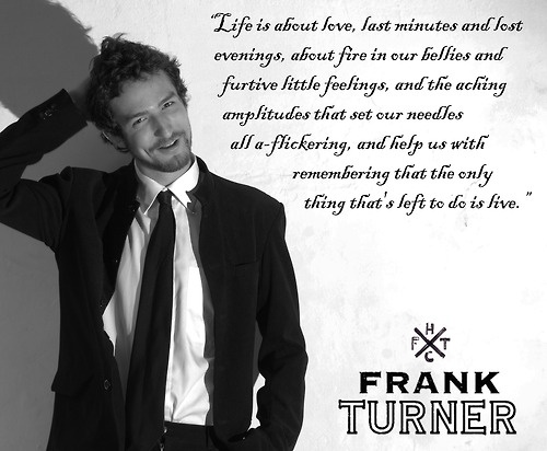 Frank Turner - I Knew Prufrock by http://mistsofeternity.tumblr.com