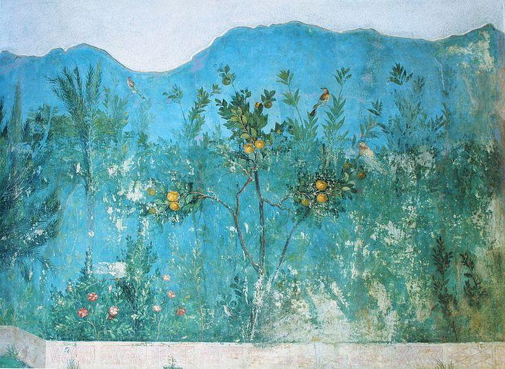 95 fantastiche immagini su pittura dell 39 antica roma su - Pittura particolare ...
