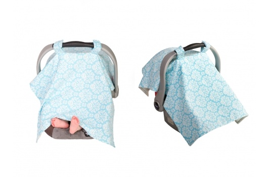 Cutie Covers Infant Car Seat Canopy