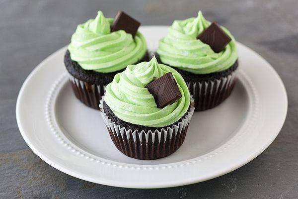 Mint Chocolate CupcakesChocolates Chips, Chocolate Cupcakes, Thin Mint, Cupcakes Frostings, Cupcakes Recipe, Gluten Free, Minis Cupcakes, Mint Chocolates Cupcakes, Cupcakes Rosa-Choqu