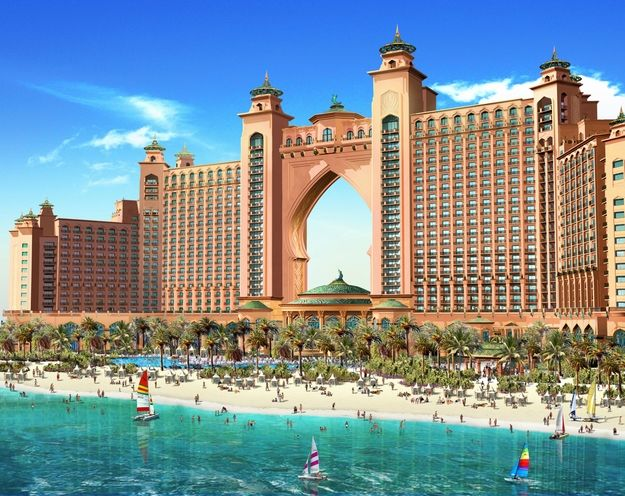 Atlantis in Dubai  https://www.facebook.com/Kombireise/app_316337858430294