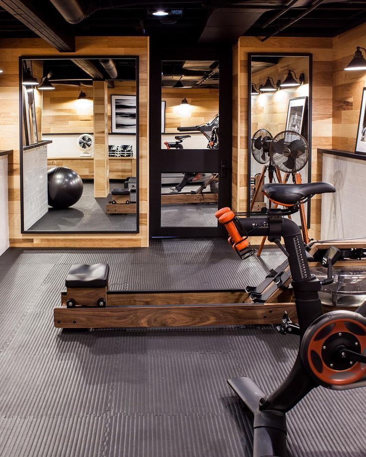 Home Gym Design Ideas Basement: L Shaped Basement Design Ideas