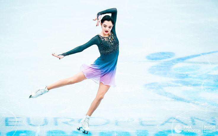 "icedreamland: ""Evgenia Medvedeva || ISU European Figure Skating Championships 2017 """
