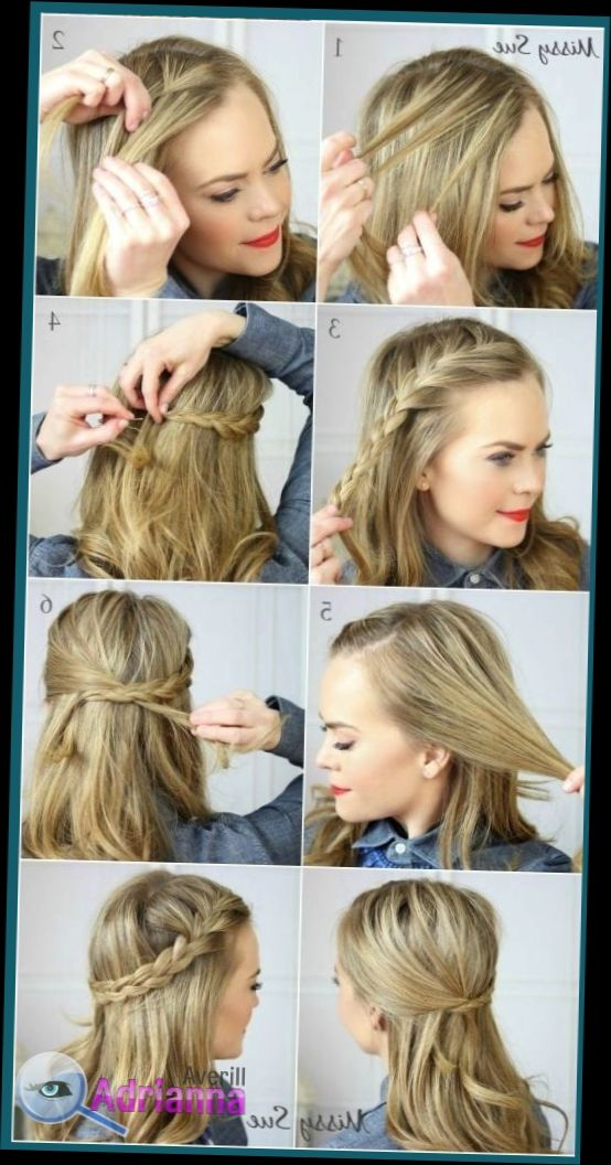 Simple Hairstyles For Everyday Step By Step What Should Be