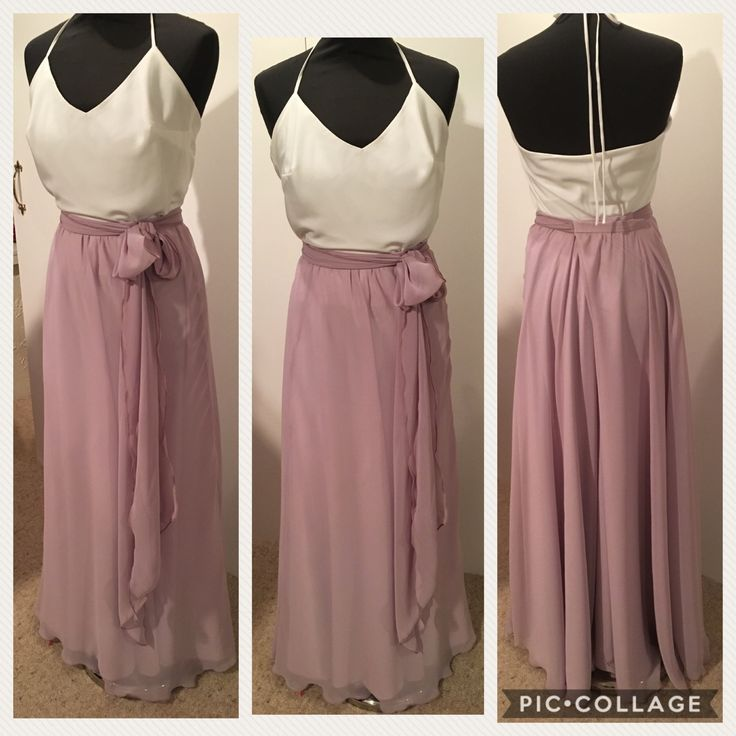 Bridesmaid two piece made to order NZ$250