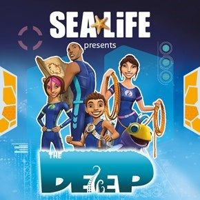 Sea Life Centre and The Deep promotional partnership. August 2017.