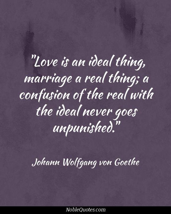 Goethe Quotes About Love