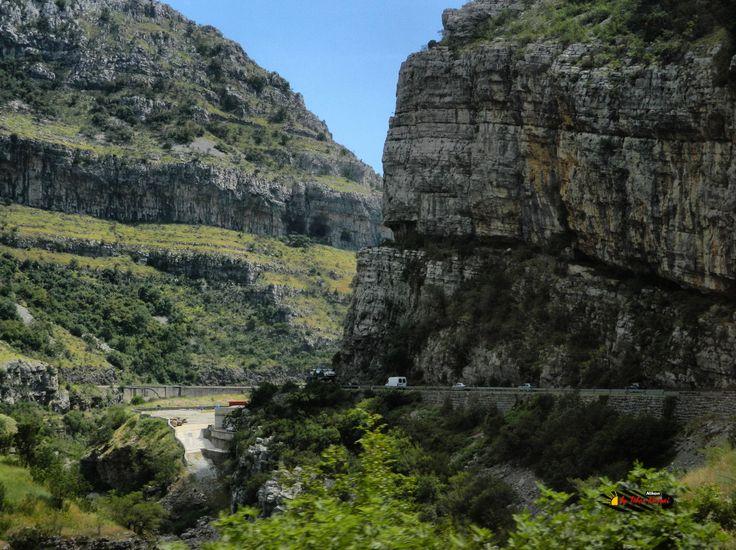 Moraca Canyon, Montenegro, Nikon Coolpix L310, 12.6mm, 1/400s, ISO100, f/4, -1.0ev, HDR-Art photography, 201607031443
