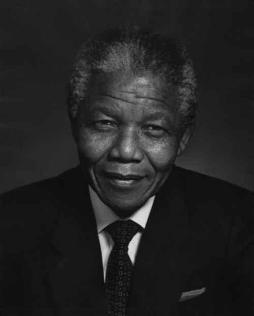 Nelson Mandela taken by Yousuf Karsh | Activist, politician and former President of South Africa (South Africa)