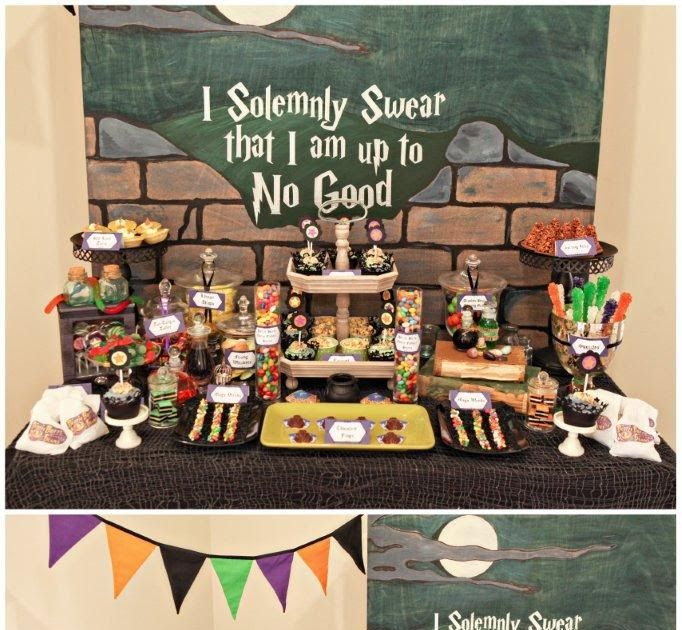 9 best sweet table hp images on pinterest hogwarts birthdays and harry potter parties. Black Bedroom Furniture Sets. Home Design Ideas
