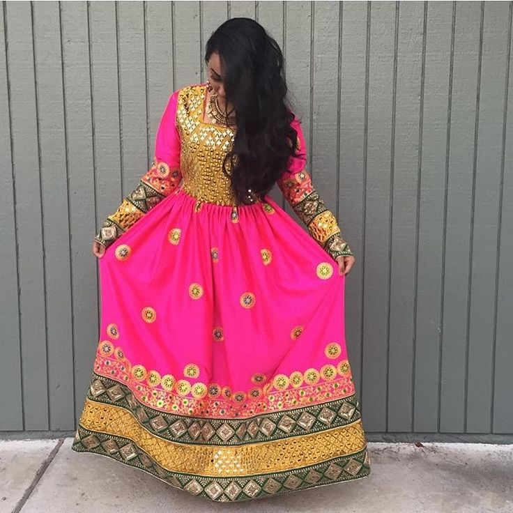 Afghan Clothing & Jewelry http://www.zarinas.com/dresses.shtml Available in Green or Purple colors Photo credit: @niloooo_