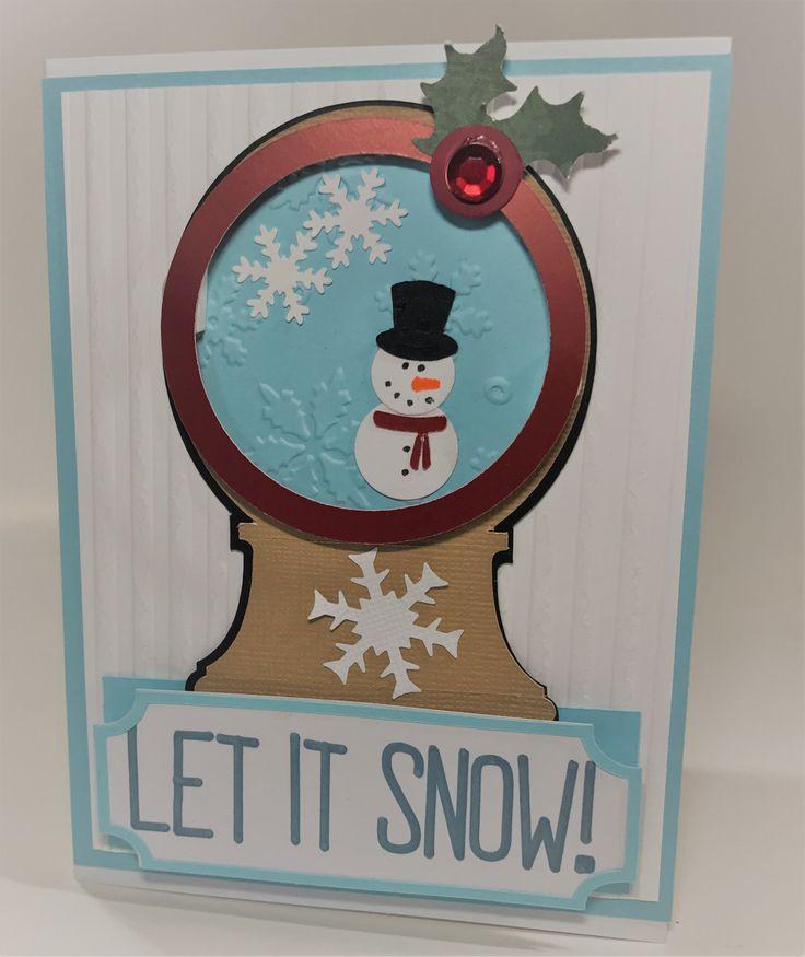 CIY PaperGrams Snow Globe Kit #1 - Free Shipping!